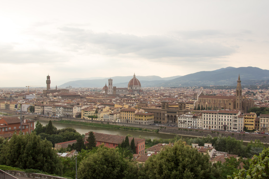 A view of Florence.