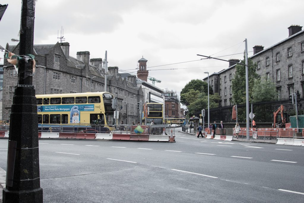 So far Dublin feels a lot like this. Really cool, but construction everywhere.
