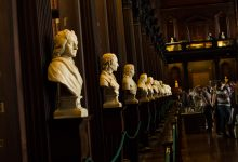 Just a few of the busts lining the walls.
